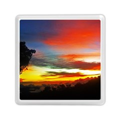 Sunset Mountain Indonesia Adventure Memory Card Reader (Square)