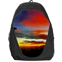 Sunset Mountain Indonesia Adventure Backpack Bag