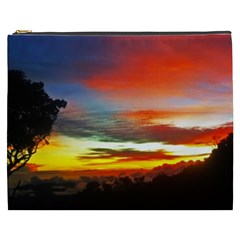 Sunset Mountain Indonesia Adventure Cosmetic Bag (XXXL)