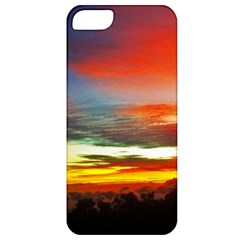 Sunset Mountain Indonesia Adventure Apple Iphone 5 Classic Hardshell Case