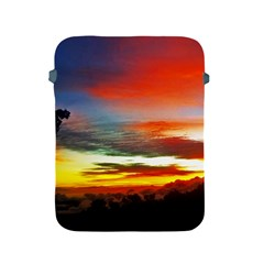 Sunset Mountain Indonesia Adventure Apple Ipad 2/3/4 Protective Soft Cases