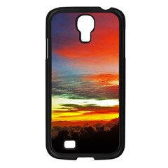 Sunset Mountain Indonesia Adventure Samsung Galaxy S4 I9500/ I9505 Case (Black)