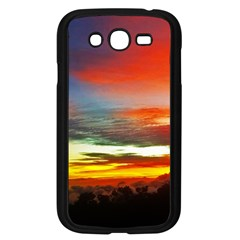 Sunset Mountain Indonesia Adventure Samsung Galaxy Grand DUOS I9082 Case (Black)