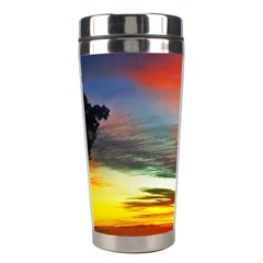 Sunset Mountain Indonesia Adventure Stainless Steel Travel Tumblers