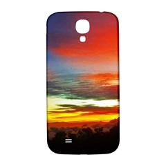 Sunset Mountain Indonesia Adventure Samsung Galaxy S4 I9500/i9505  Hardshell Back Case