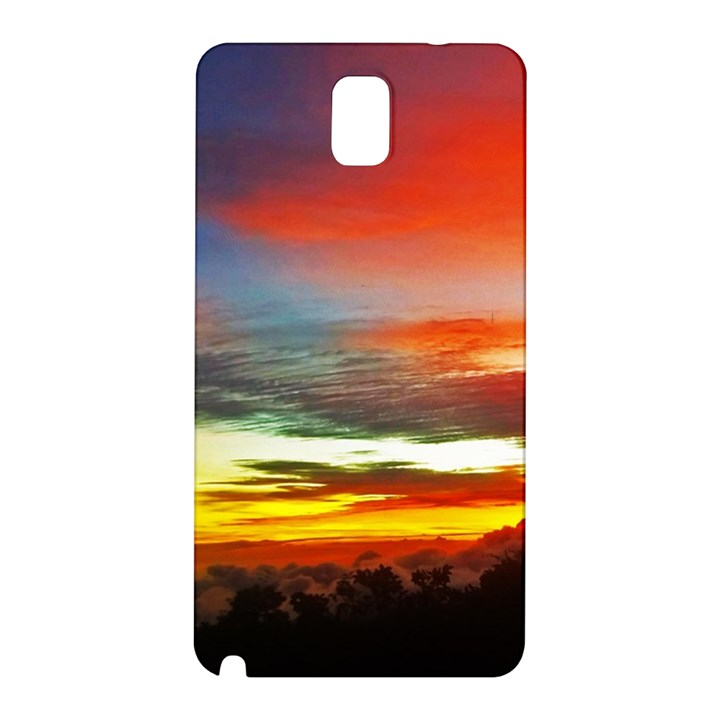 Sunset Mountain Indonesia Adventure Samsung Galaxy Note 3 N9005 Hardshell Back Case