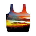 Sunset Mountain Indonesia Adventure Full Print Recycle Bag (M) Back