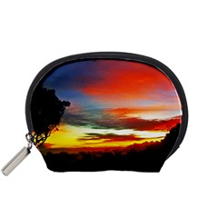 Sunset Mountain Indonesia Adventure Accessory Pouch (small)