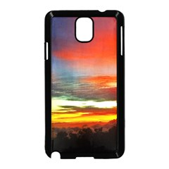 Sunset Mountain Indonesia Adventure Samsung Galaxy Note 3 Neo Hardshell Case (black)