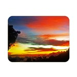 Sunset Mountain Indonesia Adventure Double Sided Flano Blanket (Mini)  35 x27 Blanket Back