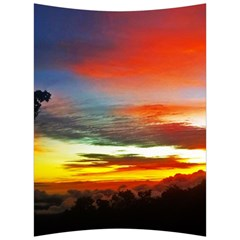 Sunset Mountain Indonesia Adventure Back Support Cushion