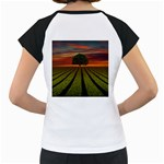 Natural Tree Women s Cap Sleeve T Back
