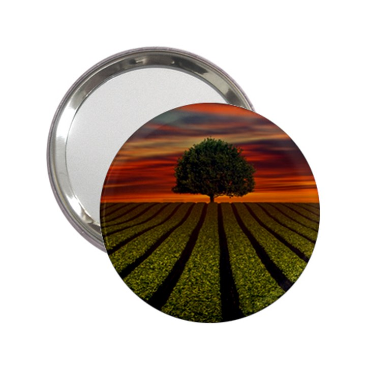 Natural Tree 2.25  Handbag Mirrors