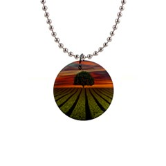Natural Tree Button Necklaces