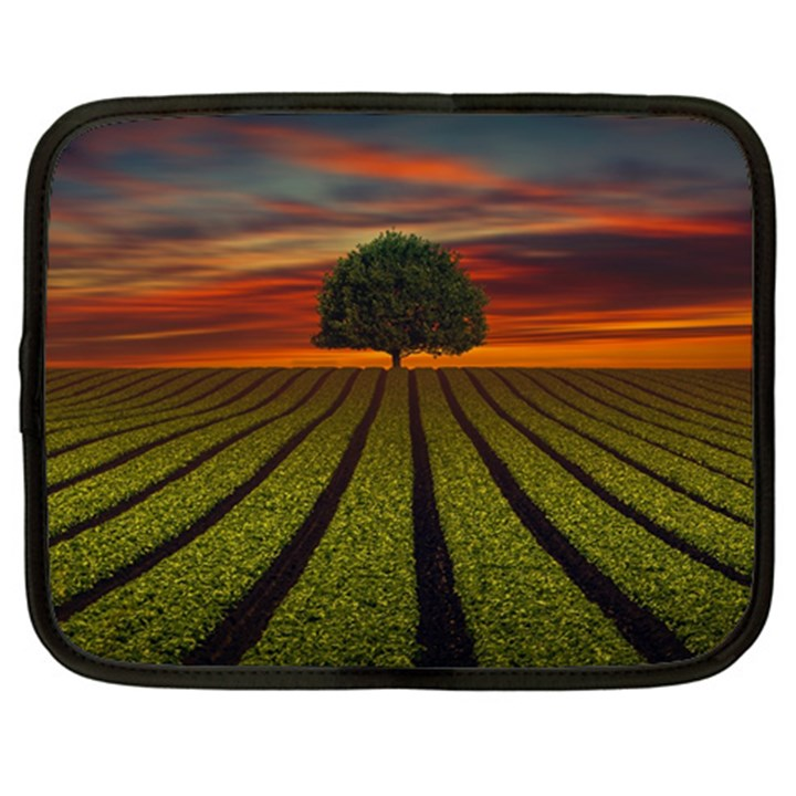 Natural Tree Netbook Case (Large)