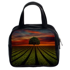 Natural Tree Classic Handbag (two Sides)