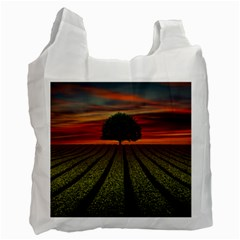 Natural Tree Recycle Bag (one Side) by Alisyart