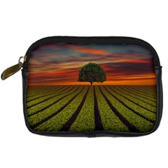 Natural Tree Digital Camera Leather Case