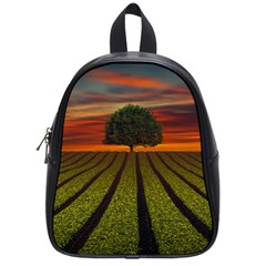 Natural Tree School Bag (small) by Alisyart