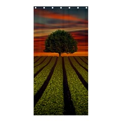 Natural Tree Shower Curtain 36  X 72  (stall)
