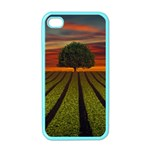 Natural Tree Apple iPhone 4 Case (Color) Front