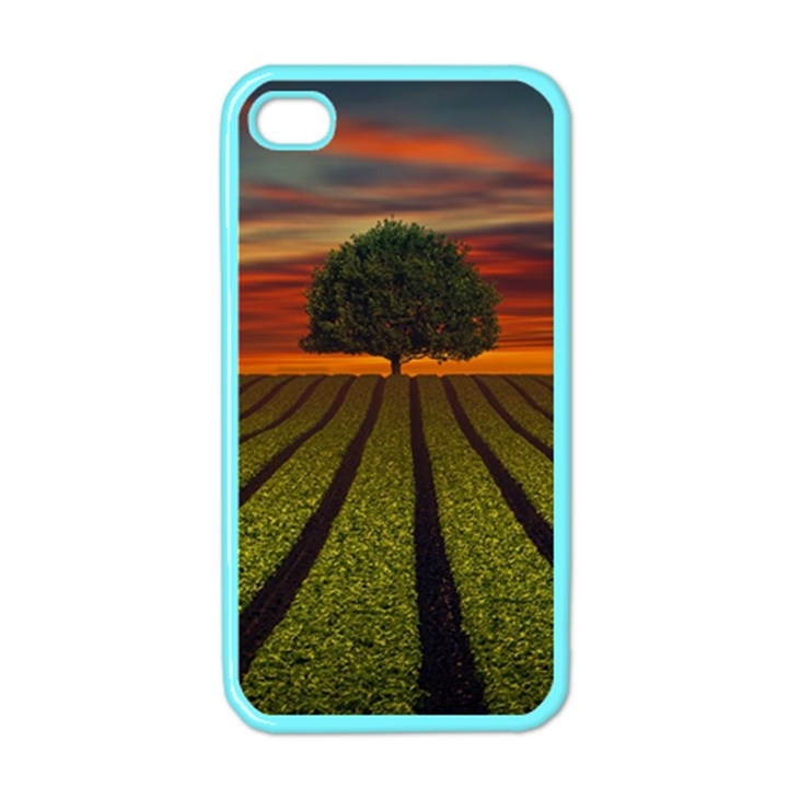 Natural Tree Apple iPhone 4 Case (Color)