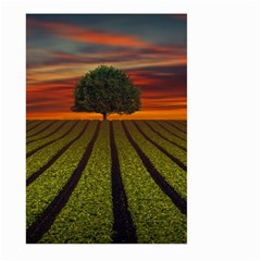Natural Tree Large Garden Flag (two Sides)