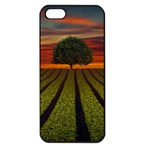 Natural Tree Apple iPhone 5 Seamless Case (Black) Front