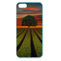 Natural Tree Apple Seamless Iphone 5 Case (color)