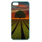 Natural Tree Apple Seamless iPhone 5 Case (Color) Front