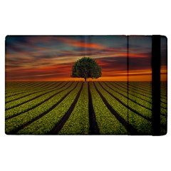 Natural Tree Apple Ipad 3/4 Flip Case by Alisyart