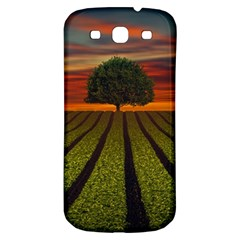 Natural Tree Samsung Galaxy S3 S Iii Classic Hardshell Back Case by Alisyart