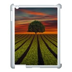 Natural Tree Apple iPad 3/4 Case (White) Front