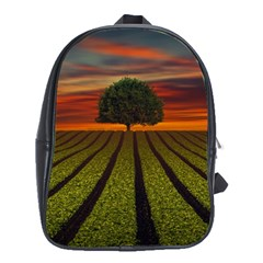 Natural Tree School Bag (xl) by Alisyart