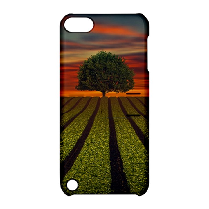 Natural Tree Apple iPod Touch 5 Hardshell Case with Stand