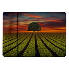 Natural Tree Samsung Galaxy Tab 10 1  P7500 Flip Case