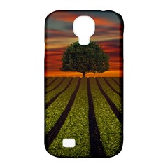 Natural Tree Samsung Galaxy S4 Classic Hardshell Case (pc+silicone)