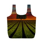 Natural Tree Full Print Recycle Bag (M) Back