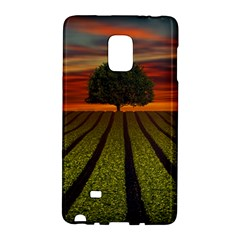 Natural Tree Samsung Galaxy Note Edge Hardshell Case