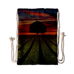 Natural Tree Drawstring Bag (small)