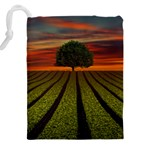 Natural Tree Drawstring Pouch (XXL) Back
