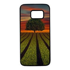 Natural Tree Samsung Galaxy S7 Black Seamless Case