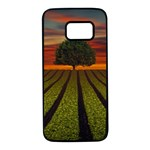 Natural Tree Samsung Galaxy S7 Black Seamless Case Front