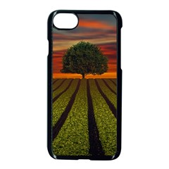 Natural Tree Apple Iphone 8 Seamless Case (black)