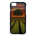Natural Tree Apple iPhone 8 Seamless Case (Black) Front