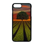 Natural Tree Apple iPhone 8 Plus Seamless Case (Black) Front