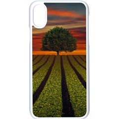 Natural Tree Apple Iphone X Seamless Case (white)