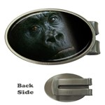 Gorilla Monkey Zoo Animal Money Clips (Oval)  Front