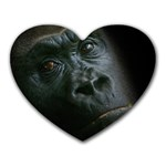 Gorilla Monkey Zoo Animal Heart Mousepads Front