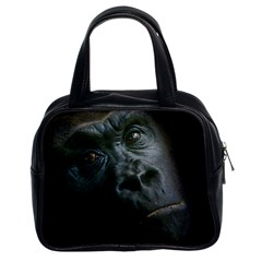 Gorilla Monkey Zoo Animal Classic Handbag (two Sides) by Nexatart